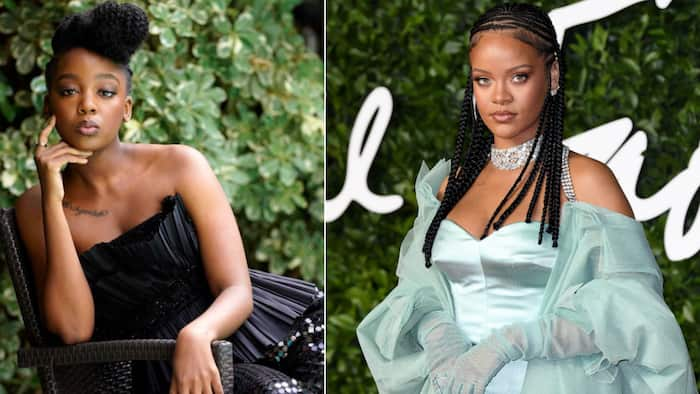 It's happening: Thuso Mbedu shares clip from Rihanna's fashion show