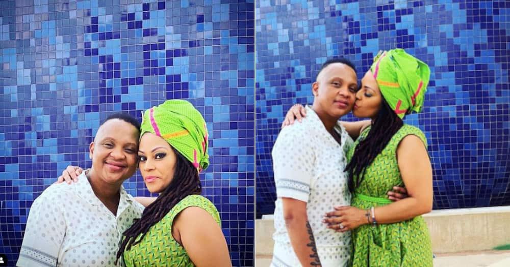 Love lives here: Letoya Makhene and Lebo Keswa finally tie the knot
