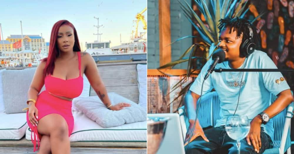 MacG calls Boity out for not mizing him and blue ticking his interview requests