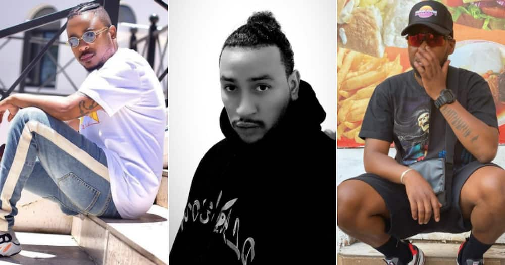 Mzansi rappers show support to AKA after the loss of Nellie Tembe