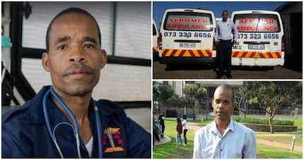 Meet Sthembiso Gumbo, who founded his own private ambulance service