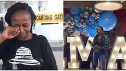 Lady celebrates 2 national awards in UK 5 years after leaving Africa, many react