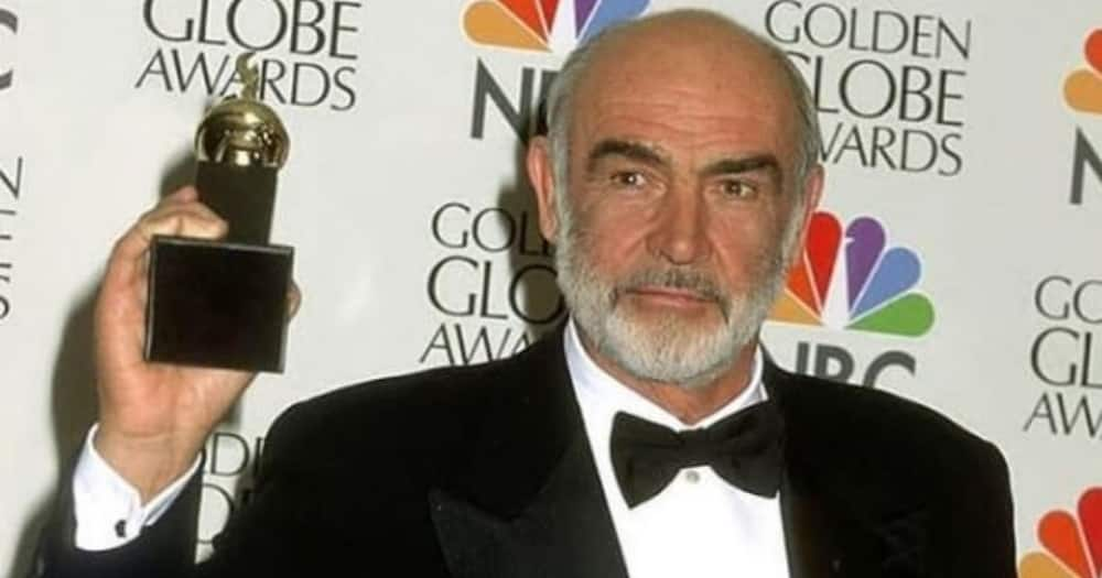In 1996 Sean Connery won the Cecil B. DeMille Award for his role in developing the film industry. Photo credit: Instagram/seanconnery_official