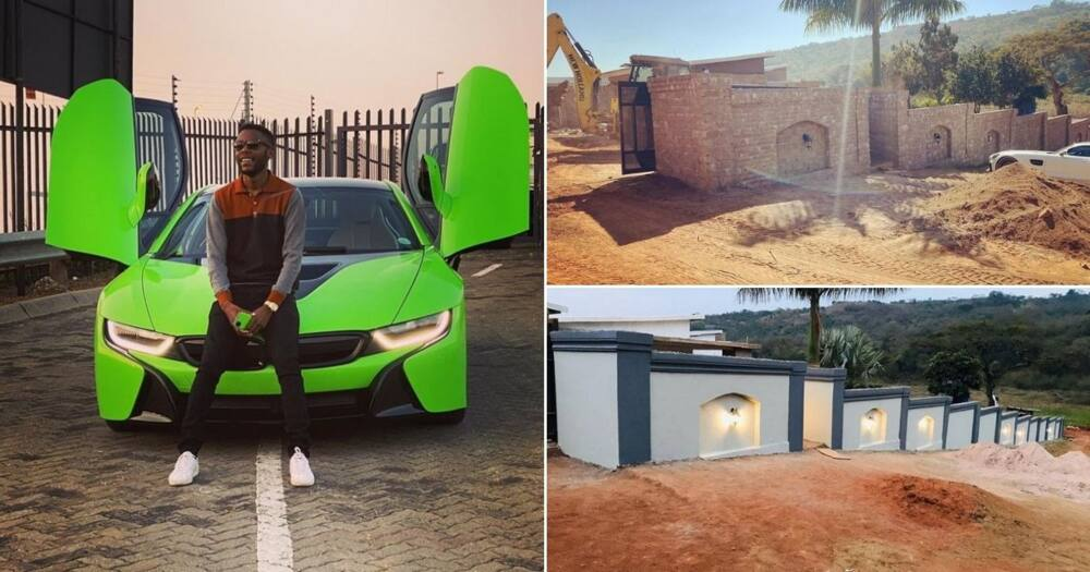 Young entrepreneur shows off property he is developing, inspires SA