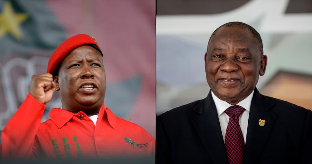 EFF Legal Costs, Bid To Unseal CR17 Bank Statements, Cyril Ramaphosa, Julius Malema