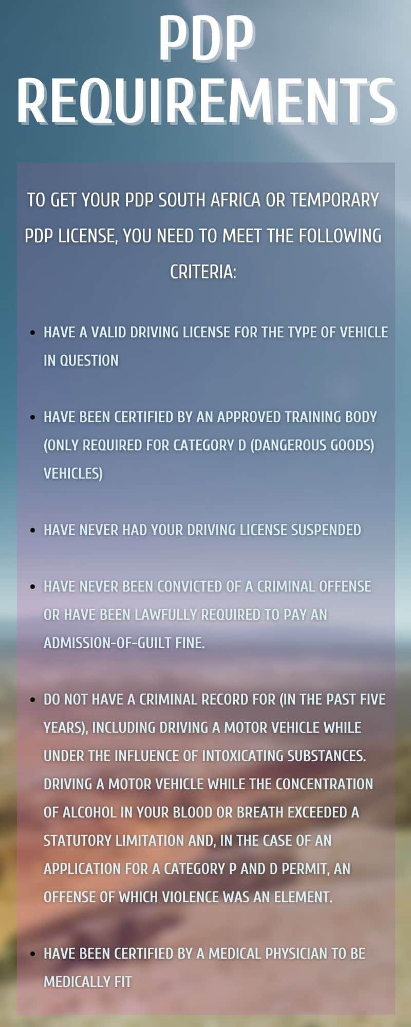 PDP license