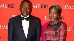 Who is Aliko Dangote's wife, Mariya A D Muhammad Rufai?