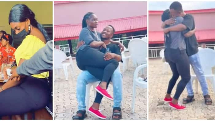 Lady falls in love with student who passed note to her in class, sparks reaction