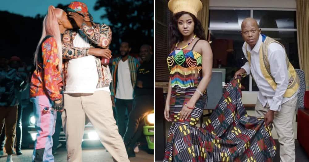 Babes Wodumo and Mampintsha celebrate wedding, Mzansi has mixed reactions