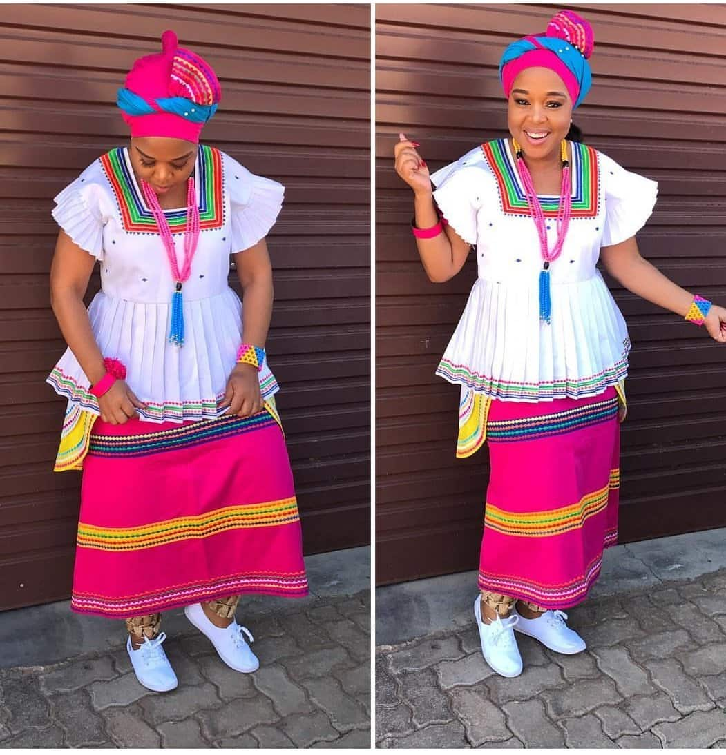 Traditional Dresses For Sepedi Decor