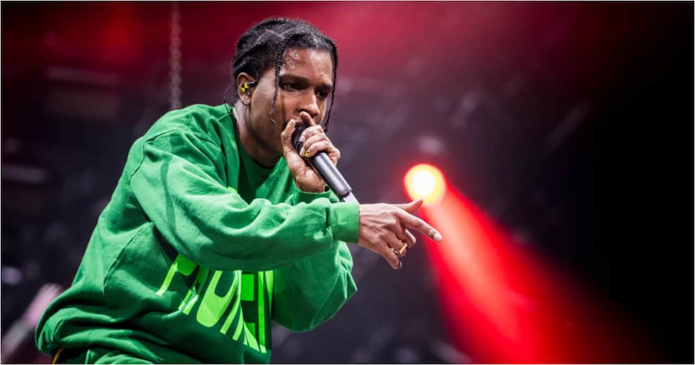 ASAP Rocky delivers meals to homeless shelter where he and his mom lived