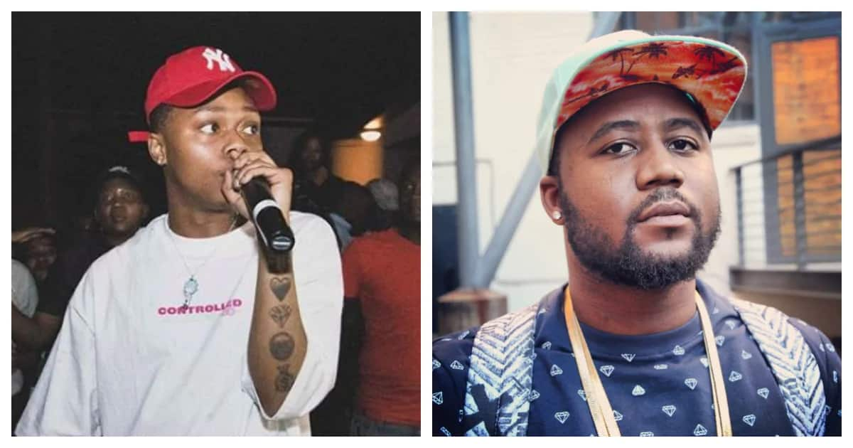 Cassper and A-Reece's beef gets serious over comments about drug use. Image source: Instagram