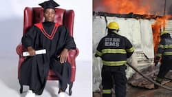 Mzansi truly inspired by man who failed Grade 12, becomes firefighter