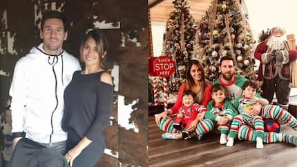 Lionel Messi's wife Antonella shares stunning family picture in celebration of Christmas
