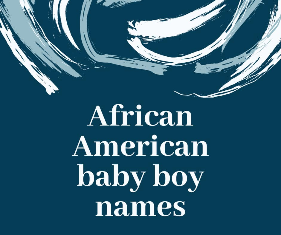 african male names