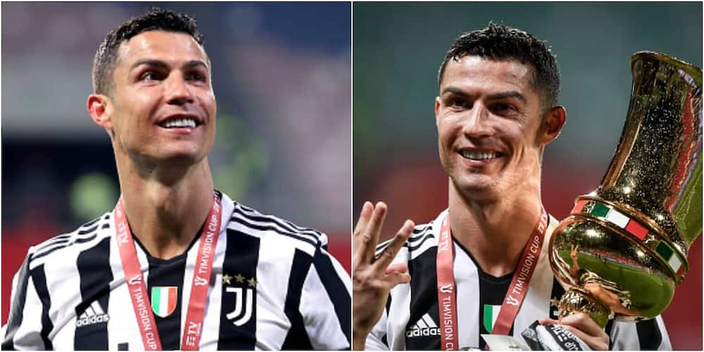 Ronaldo Sets Almost Unbeatable Football Record Despite Not Playing in Juventus Final Serie A Game