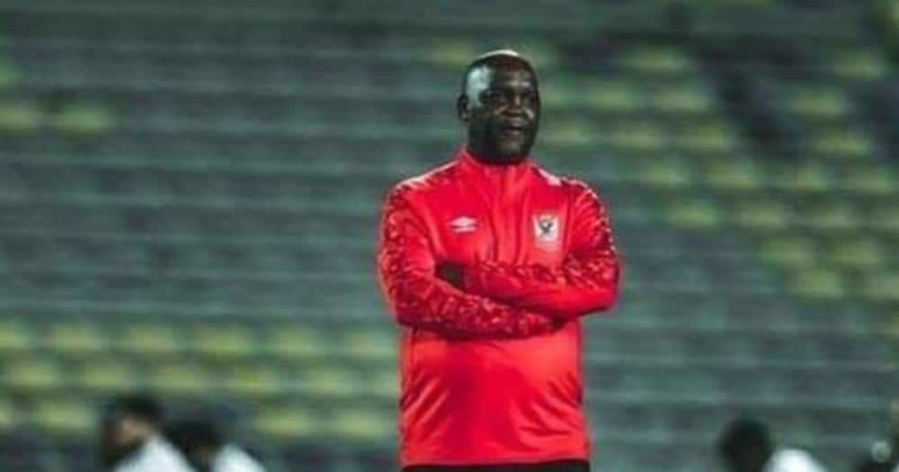 Pitso Mosimane has made a huge impact at the Egyptian club. Photo credit: Instagram/therealpitsomosimane