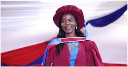 First female South African to obtain Math PhD at University of Venda