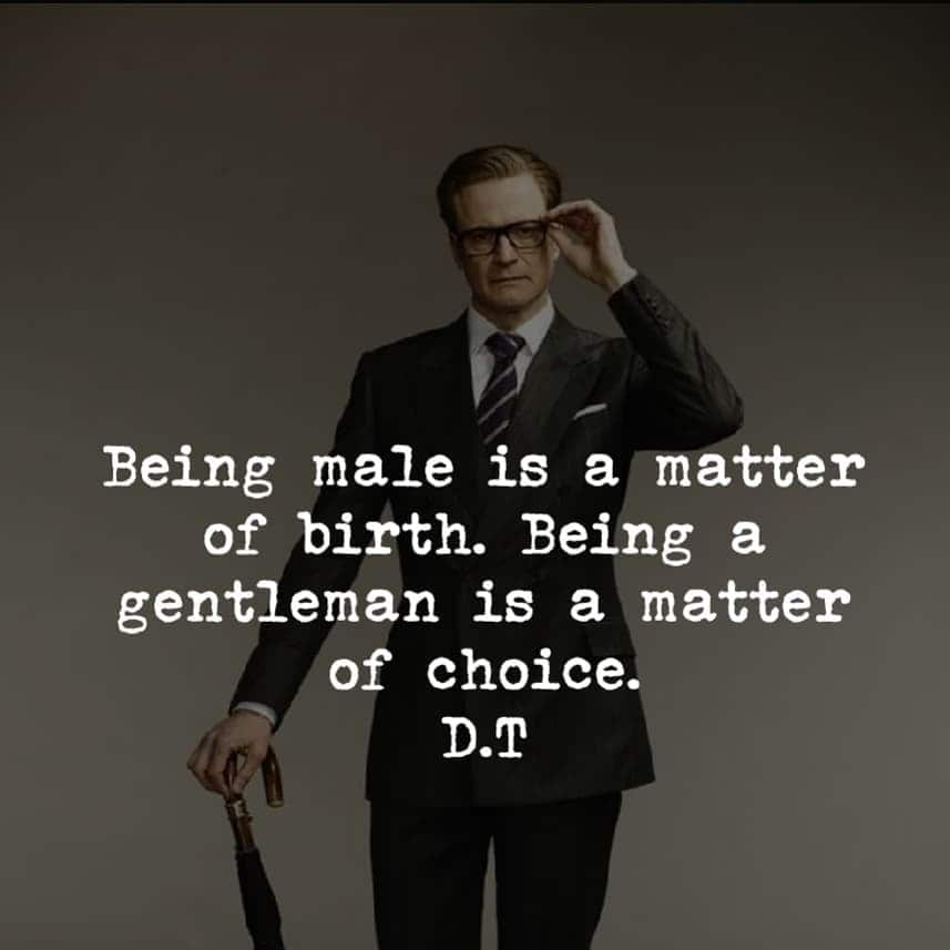 30 best gentleman quotes and images
