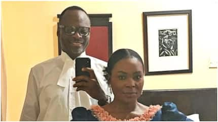 Man shares adorable photo with his wife of 33 years as he gets called to bar