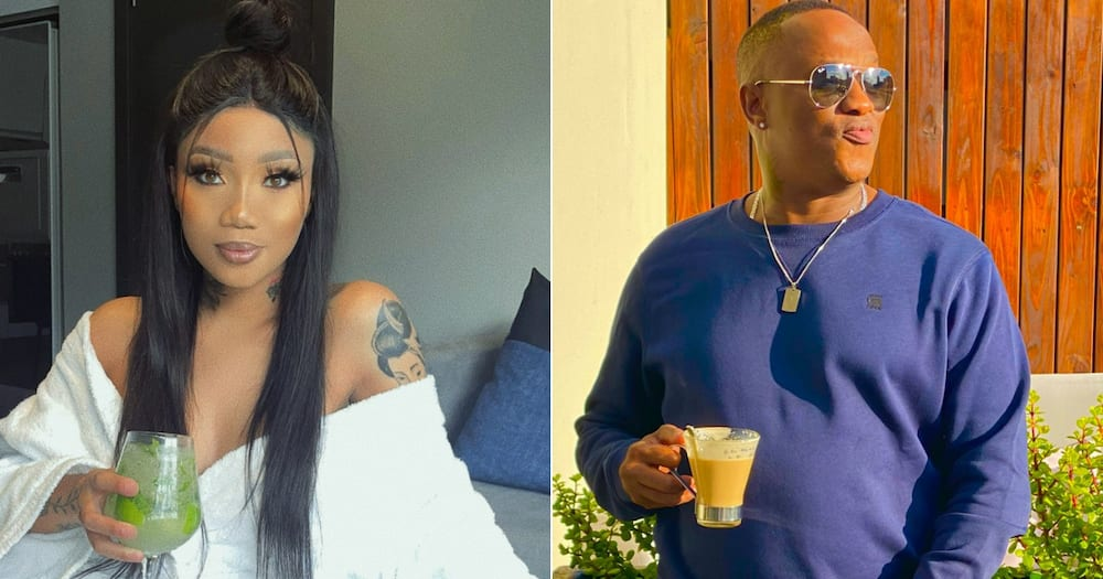 Shamiso gets mistaken for Jub Jub as gent rapidly runs away from her