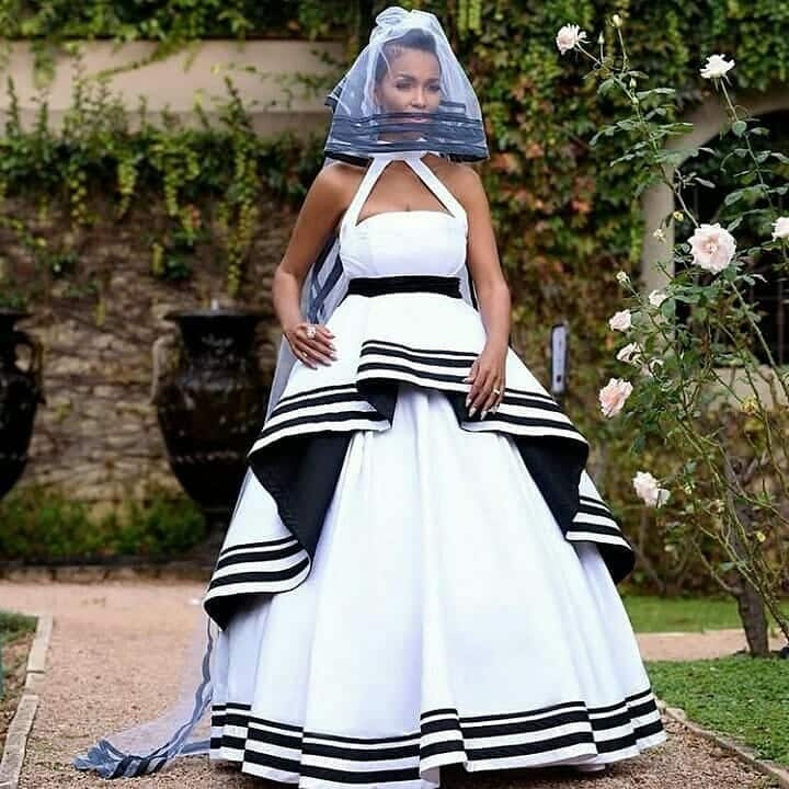 Xhosa traditional marriage attire South Africa