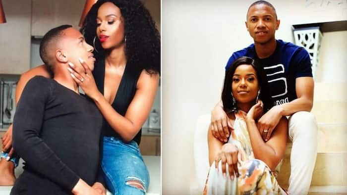 Andile Jali and his wife, Nonhle, still married but no longer together