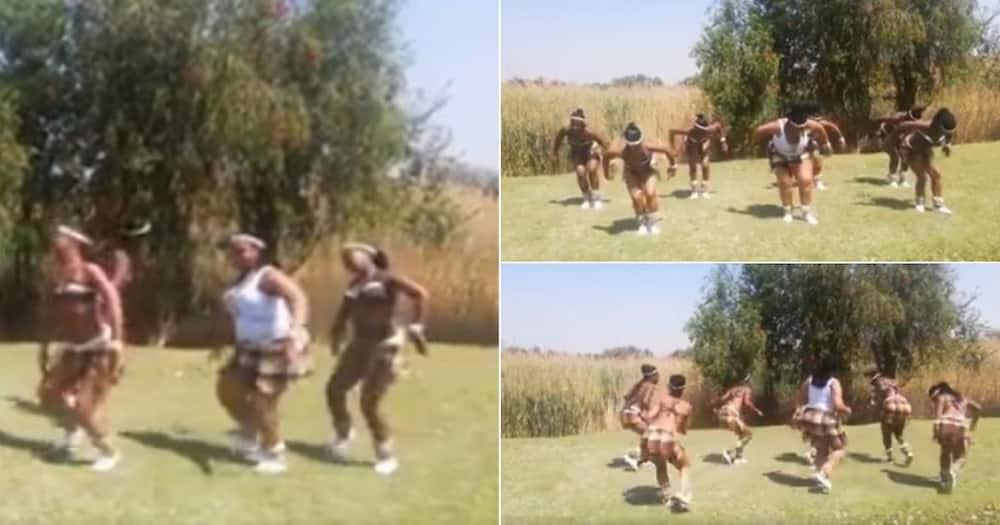 Jerusalema challenge, Tswana style: Ladies wow Mzansi with dance moves