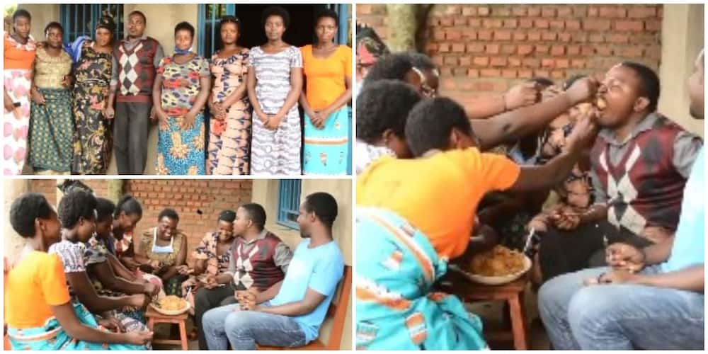 My Spiritual Powers Bring Them Back Each Time They Run away, Man who Married 12 Wives Speaks in New Video