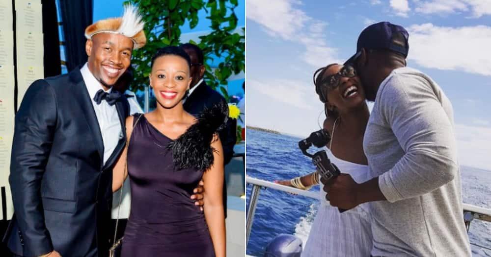 Tshepo Mosese, Salamina, Wedding, Anniversary, Social media reactions