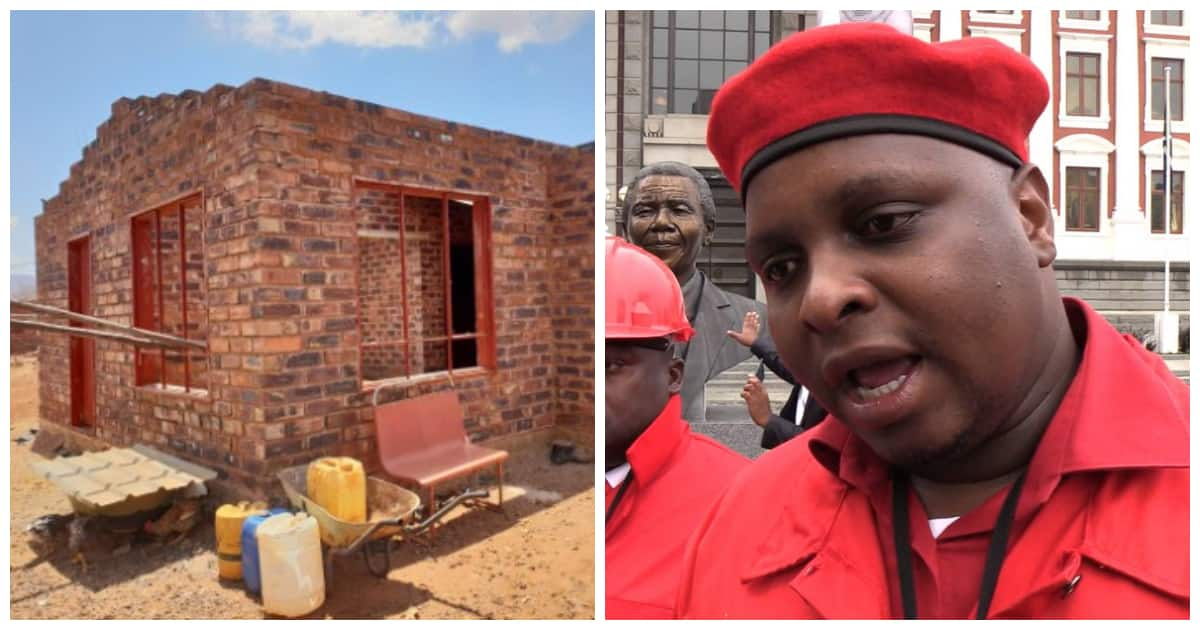 Old man's RDP house remains half built thanks to VBS scandal