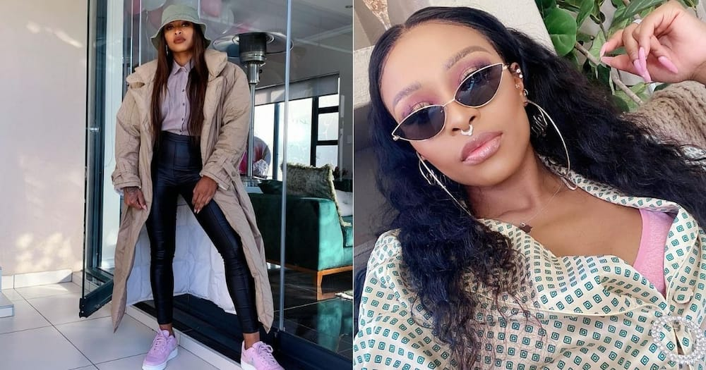Inside DJ Zinhle's cool star studded sunglasses pre launch party