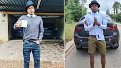 Willard Katsande flaunts his new G Wagon after leaving Kaizer Chiefs