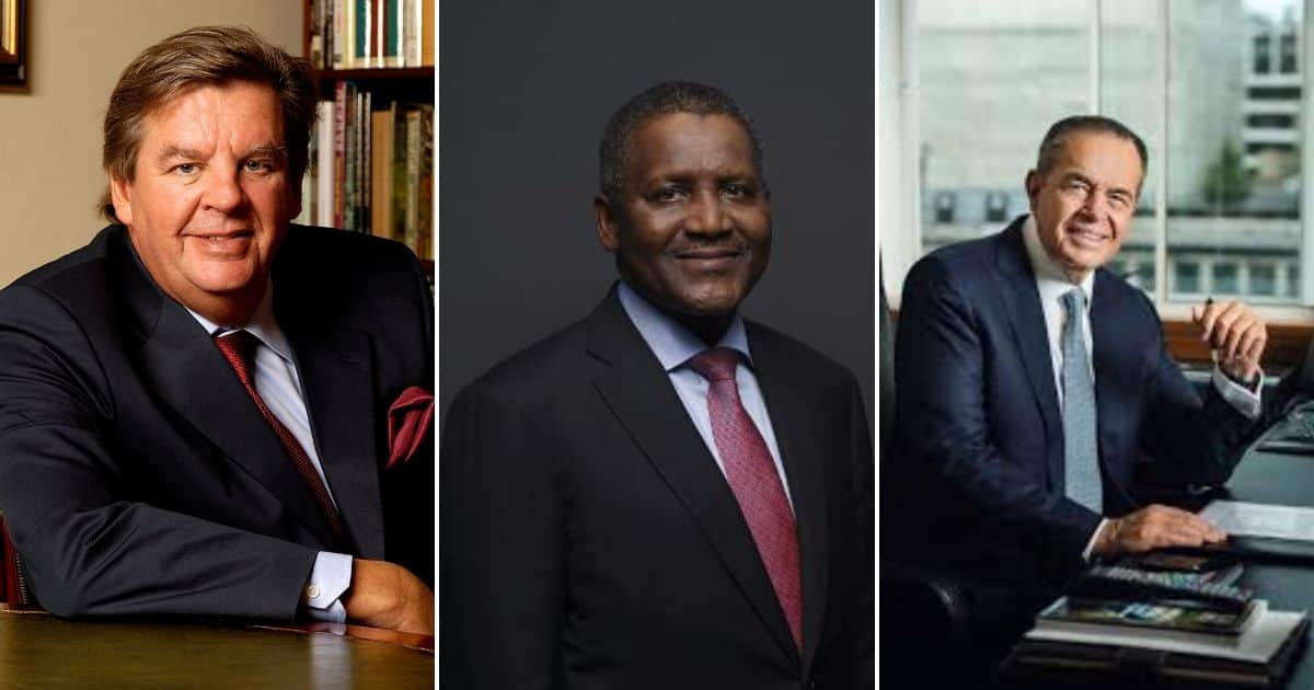 Africa's richest: 10 African billionaires and their nett worths - Briefly.co.za