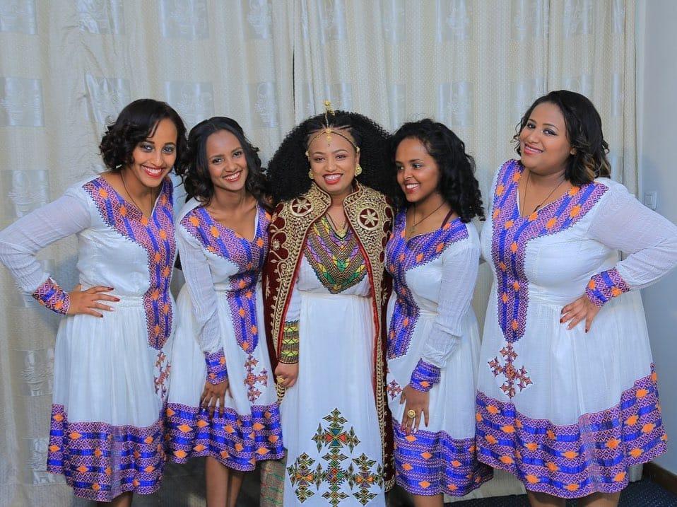 Habesha bridesmaids dresses
