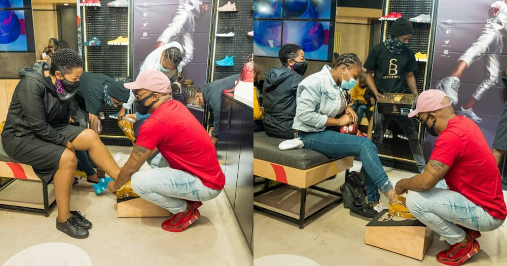 Somizi Humbles Himself Again for His Customers as He Works Hard to Get the Bag