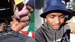 """""""Marry her before Satan disturbs you"""": Mzansi shows big respect for man sticking by his pregnant girlfriend"""