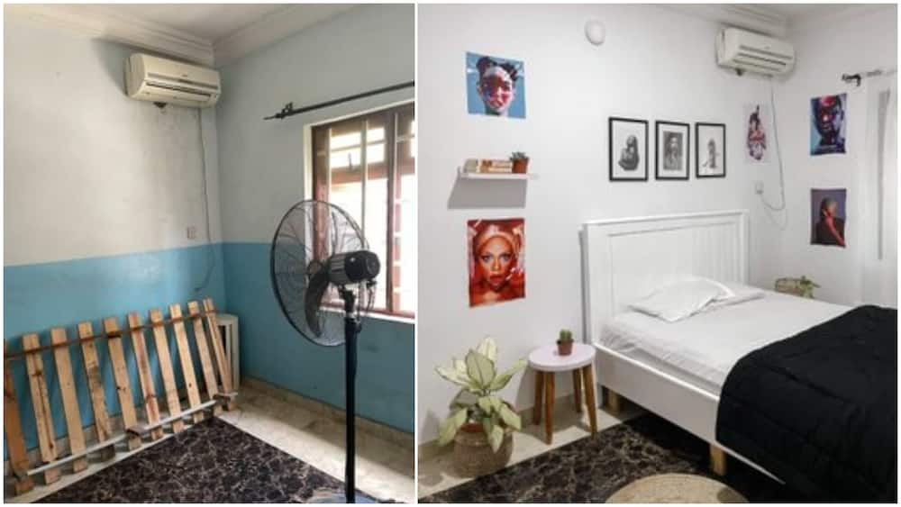 Young man transforms his room into a lovely space with 'little' money, people love it