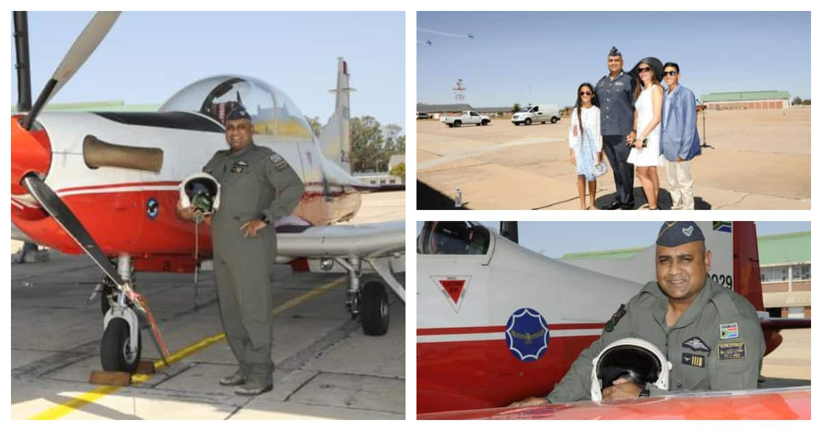 Upwards and onwards for SAAF's chief Indian commander Donovan Chetty