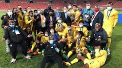 Halala: Bafana Bafana win COSAFA Cup after beating Senegal on penalties