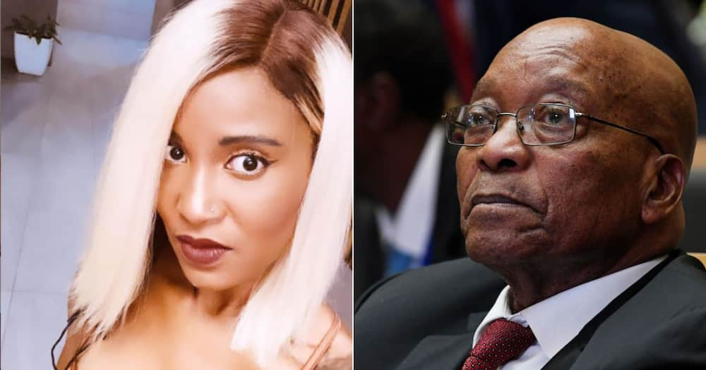 Dudu Zuma-Sambudla, Jacob Zuma, Dad, Advocates, Post, Social media, Twitter, Estcourt Correctional Centre, Former president