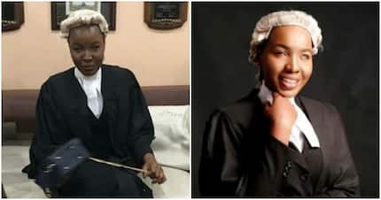 Meet visually impaired lady who against all odds was called to bar