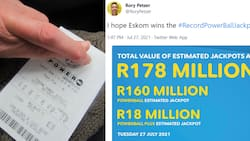Locals dream of what they would do if the won they R18m Powerball jackpot