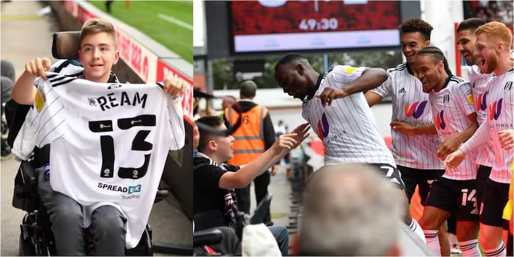 Fulham, Goal, Disabled boy, Aleksandar Mitrovic, Bristol City, Championship game