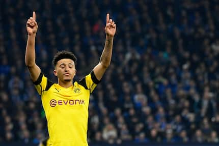 Teenager Jadon Sancho's transfer value has risen 806% in just 3 months