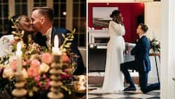 """""""You deserve it man"""": Mzansi reacts to guy's proposal, sweet message & stunning pics"""