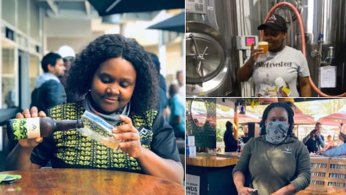 Woman loses it all 2 years after starting SA's first black female owned brewery