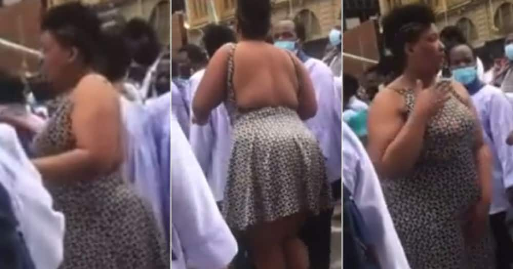 Woman Filmed Dancing With Men Only in a Religious Event Attracts SA