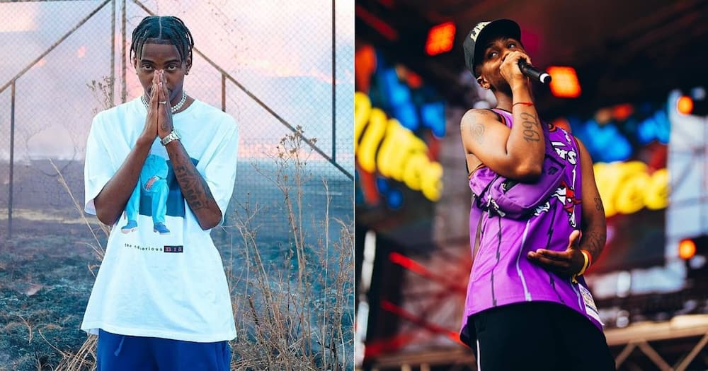 Flame responds to Emtee's confirmation that beef is over, fans excited