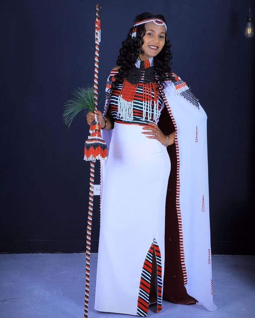 Oromo traditional wedding dress Ethiopia